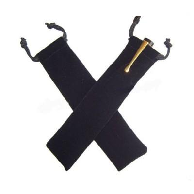 Black Velvet Pen Pouch