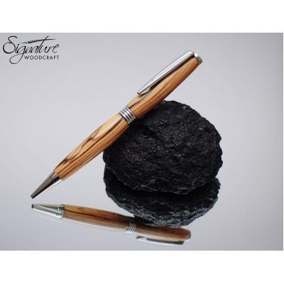 #190 - Gracilis Ballpoint Pen in Bethlehem Olivewood