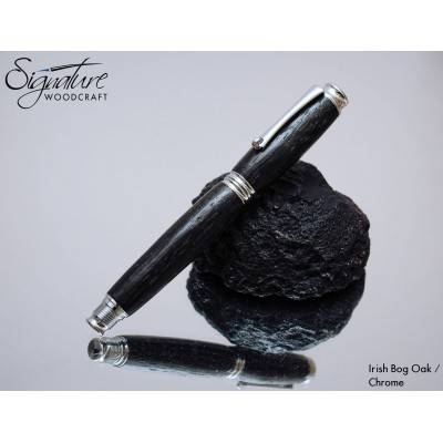 #171 - Mirage Fountain Pen in Irish Bog Oak