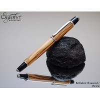#199 - Sirocco Fountain Pen in Bethlehem Olivewood