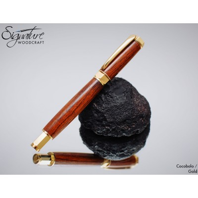 #184 - Zenith Fountain Pen in Cocobolo