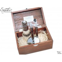 Squire Shaving Set (Shaving Brush, Razor Handle and Shaving Stand)