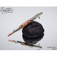 #195 - Excalibre Bolt Action Pen in Camouflage Acrylic