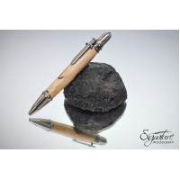 #214 - Game of Thrones Themed Ballpoint Pen in Dark Hedges Beech (Knights)