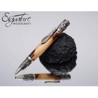 #205 - Game of Thrones Themed Ballpoint Pen in Dark Hedges Beech (Phoenix)