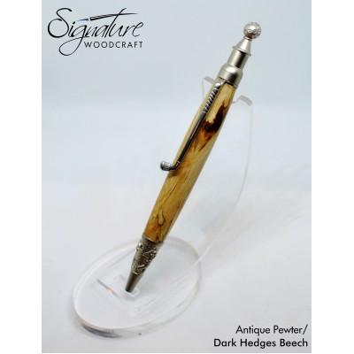 #210 - Rathmore Golf Theme Ballpoint Pen in Dark Hedges Beech