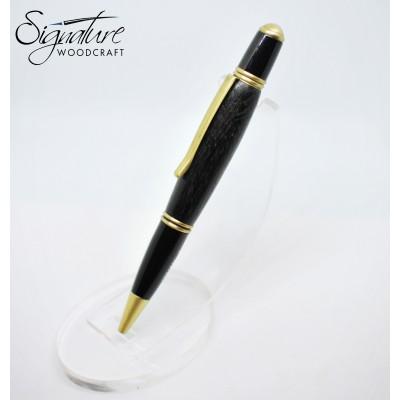 #212 - Sirocco Ballpoint Pen in Irish Bog Oak